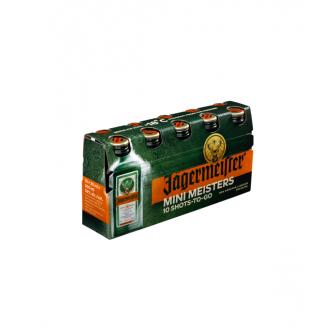 Jagermeister Pack Minimeister 10x20ml