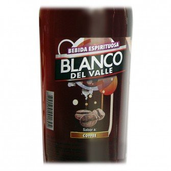 Crema de licor Licor Blanco del Valle...