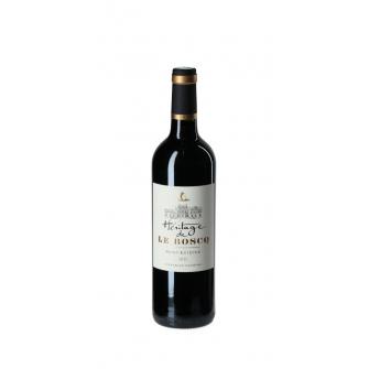 Vino tinto Héritage De Le Boscq 2015 75cl